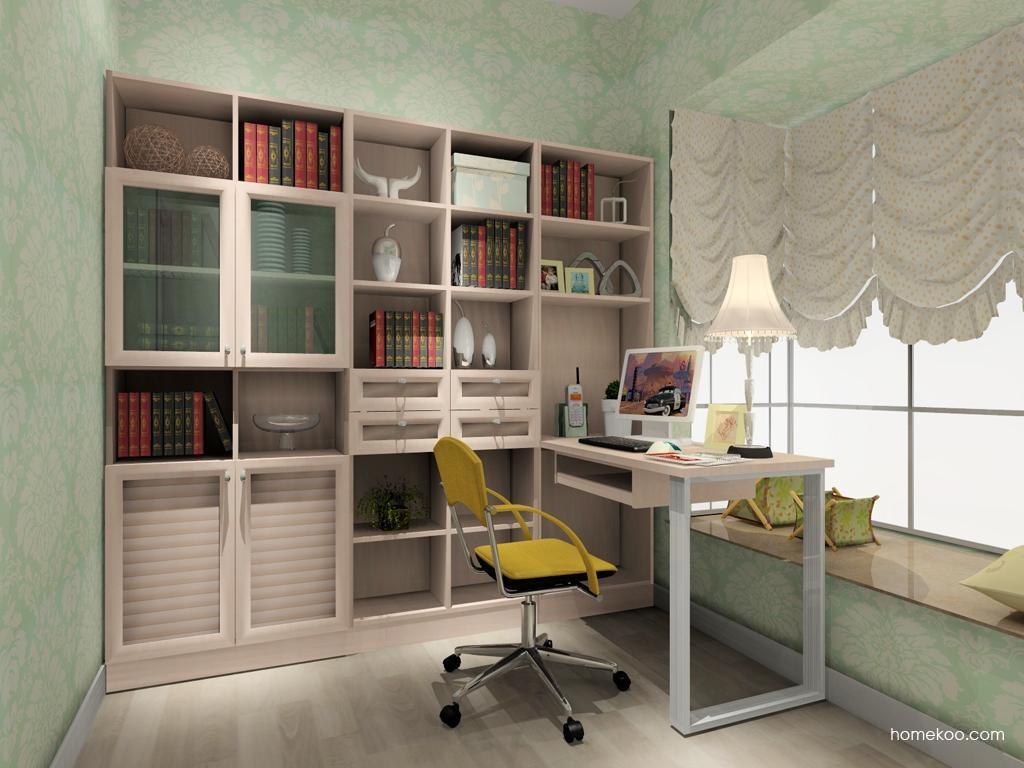北欧阳光书房家具C3872