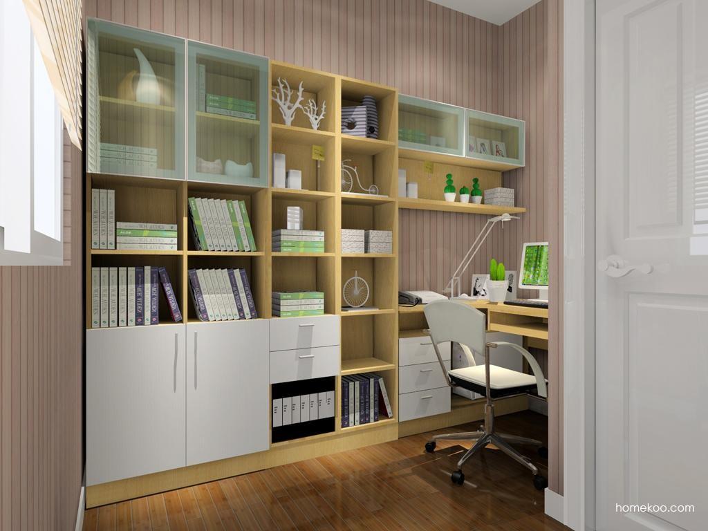 新实用主义书房家具C3891