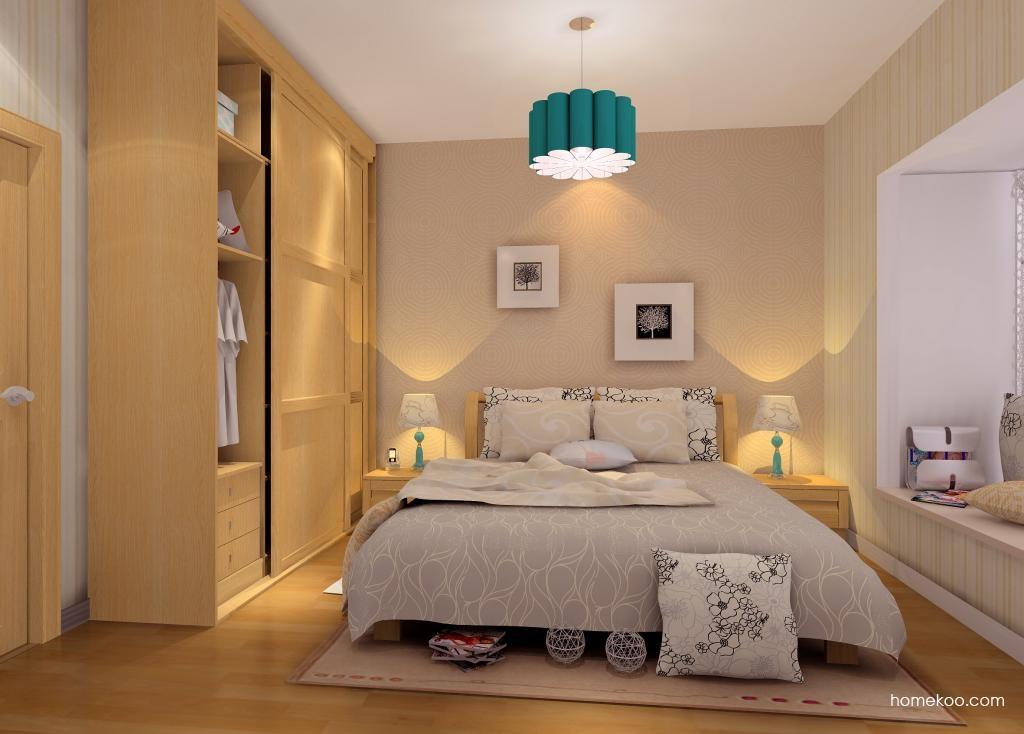 丹麦本色卧房家具A6809