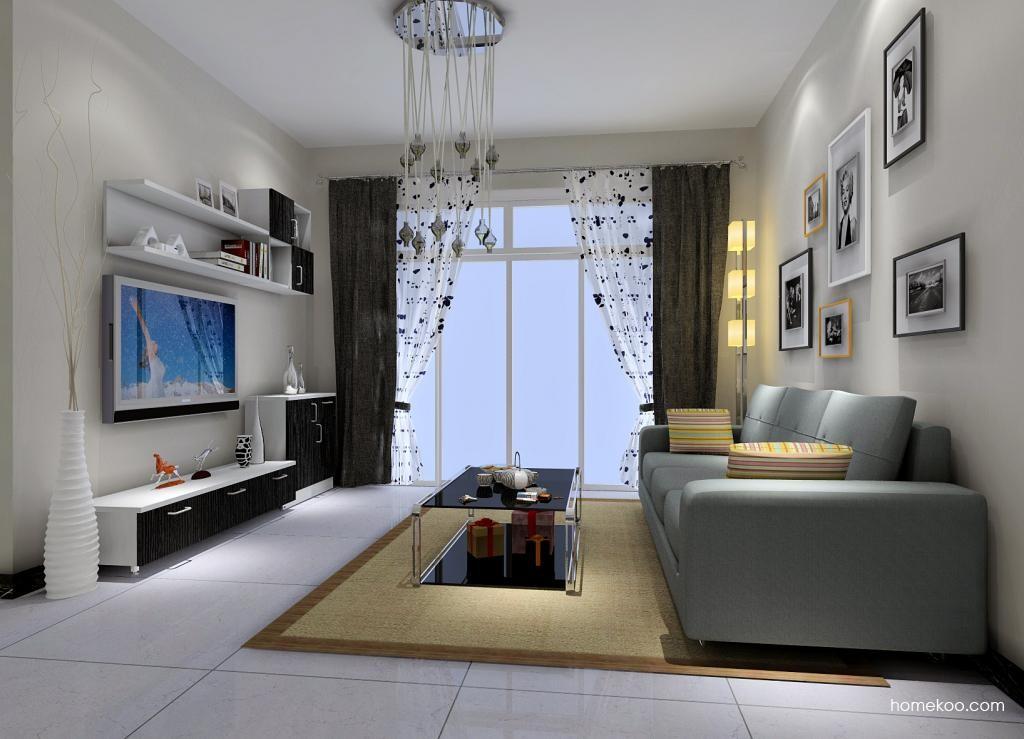 简约主义客厅家具D1033