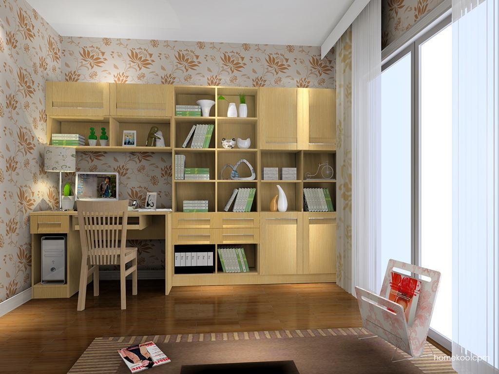 丹麦本色书房家具C3915
