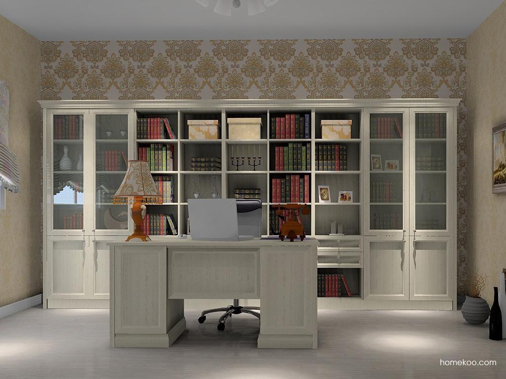 英伦印象书房家具C3901