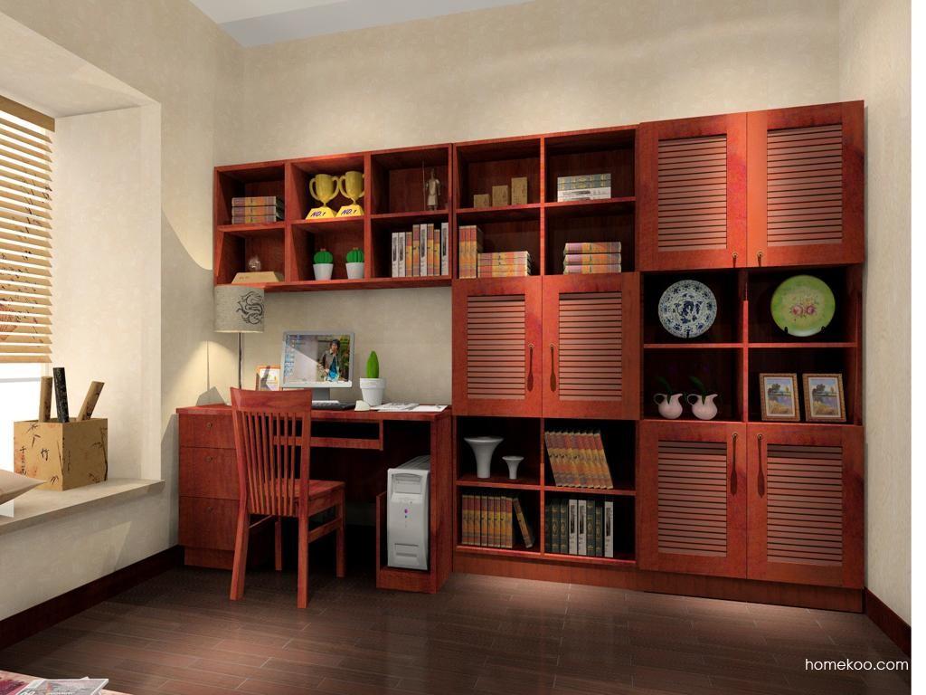 新中式主义书房家具C3921