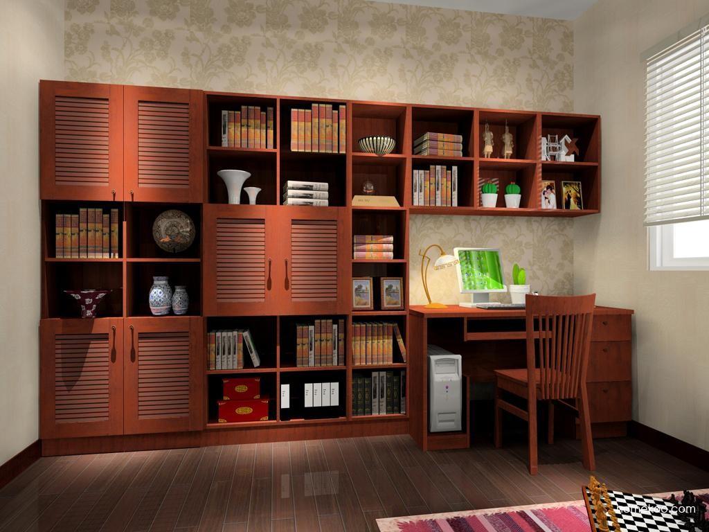 新中式主义书房家具C3931