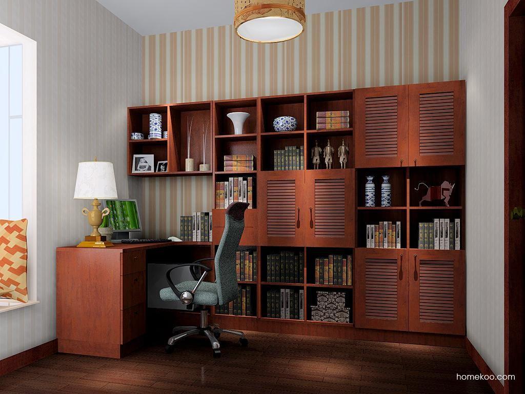 新中式主义书房家具C3933