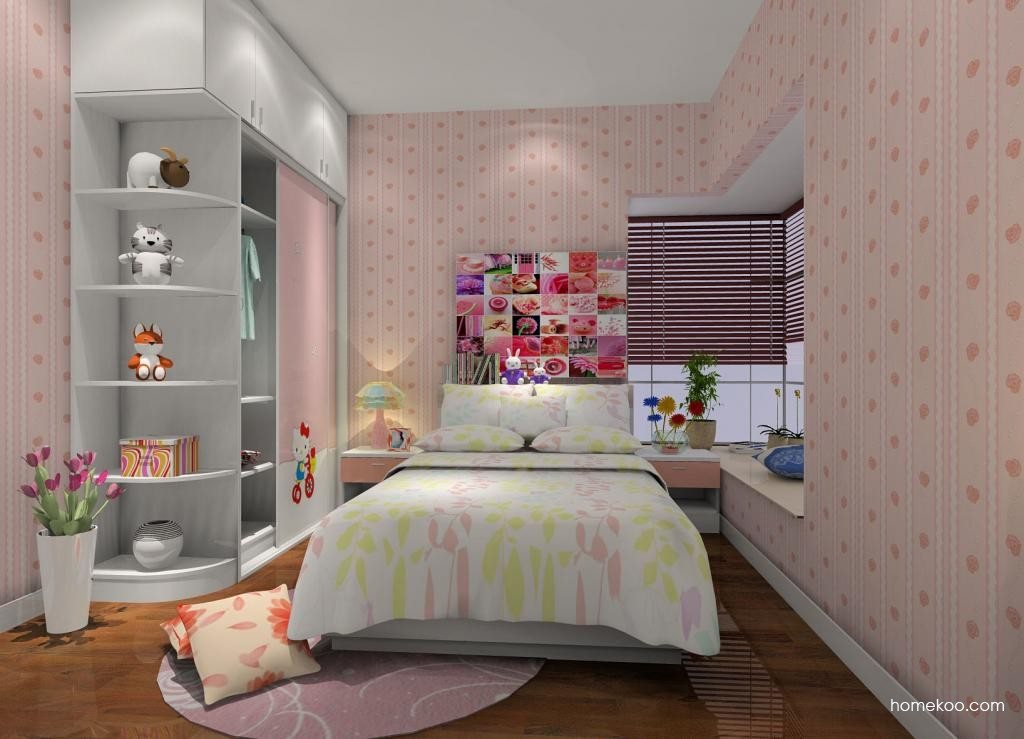 女孩的梦青少年房B6724