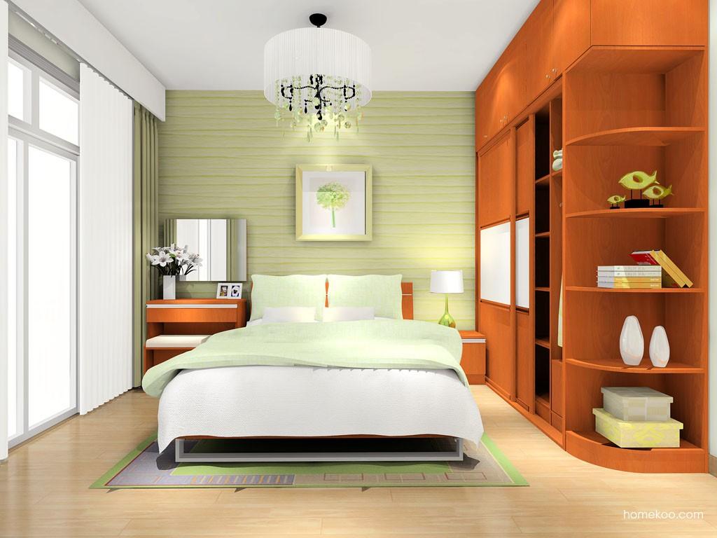 加州梦卧房家具A6858