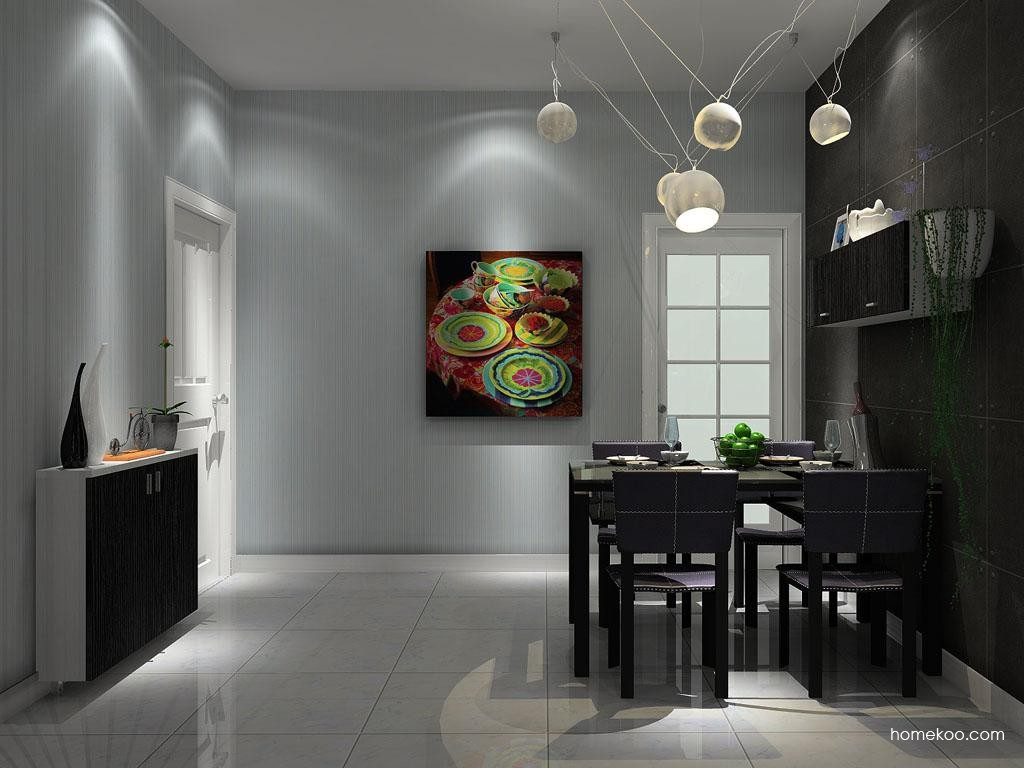 简约主义餐厅家具E1338