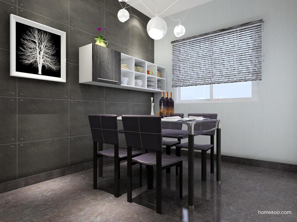 简约主义餐厅家具E1354