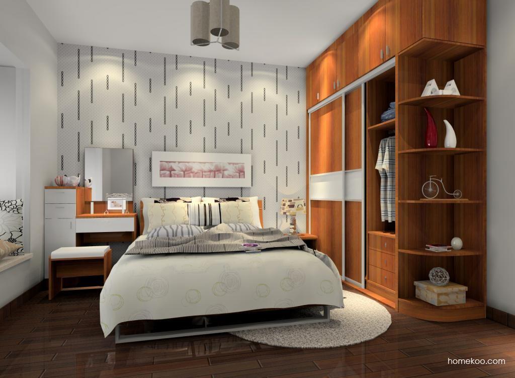 新实用主义卧房家具A6875