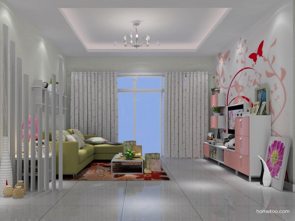 浪漫主义客厅家具D1130