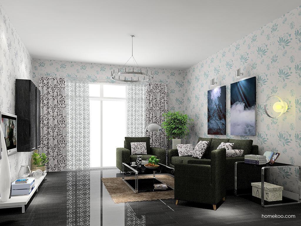 简约主义客厅家具D7384