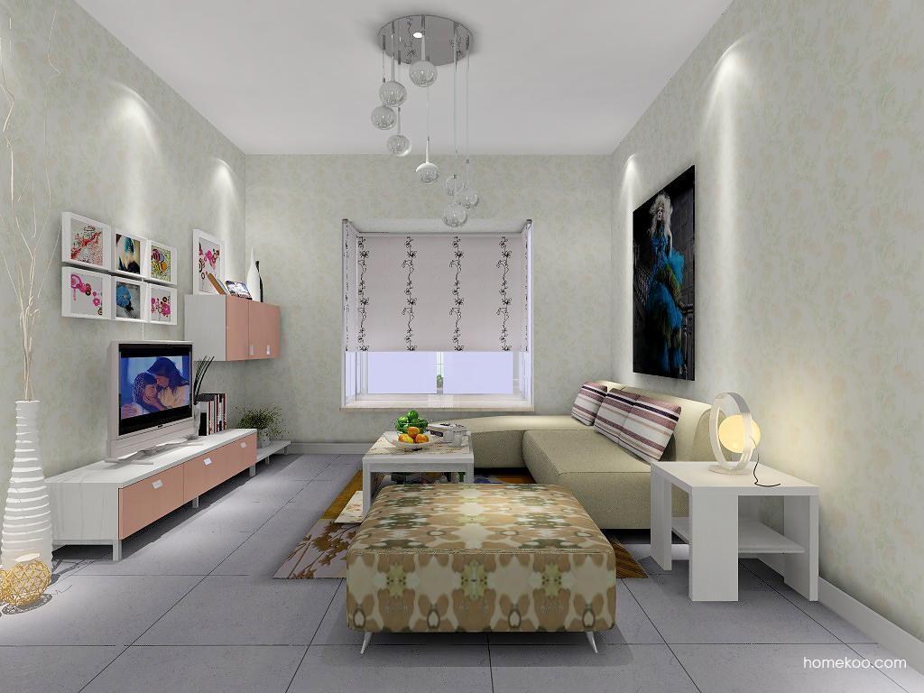 浪漫主义客厅家具D7372