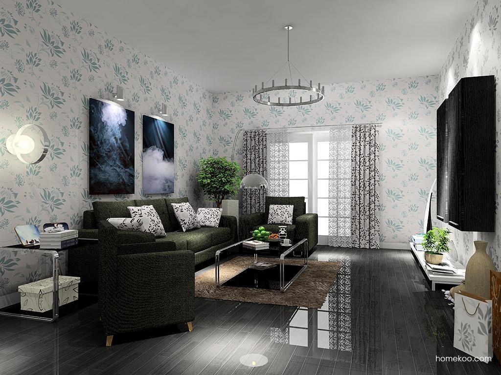 简约主义客厅家具D7362