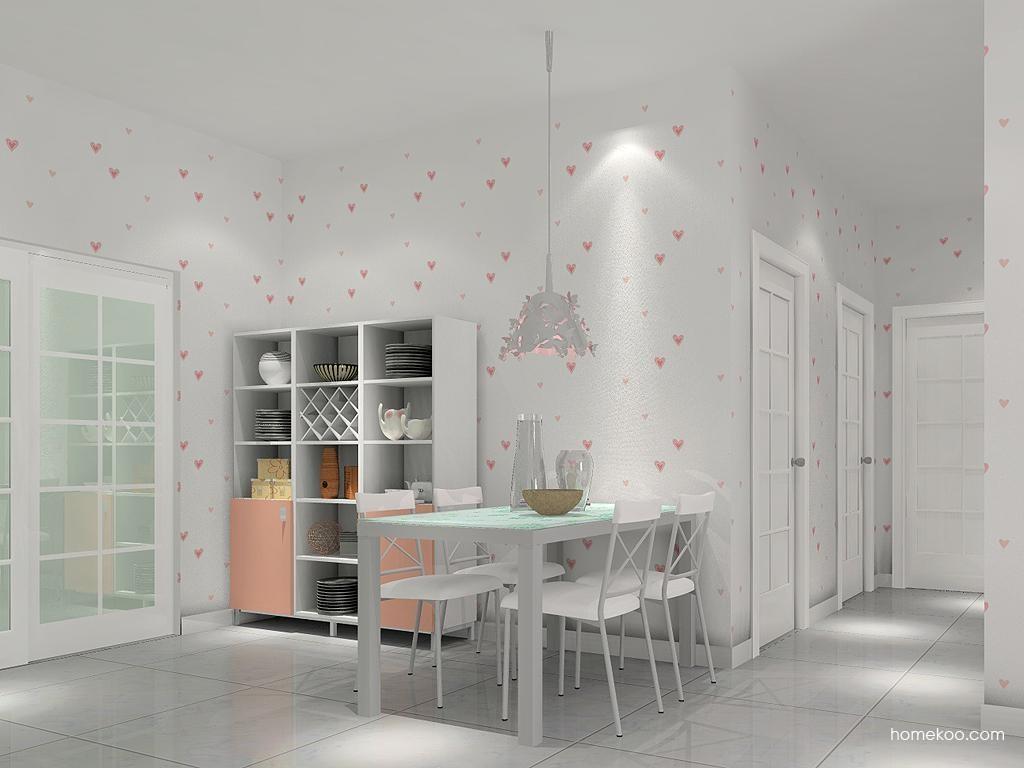 浪漫主义餐厅家具E2212