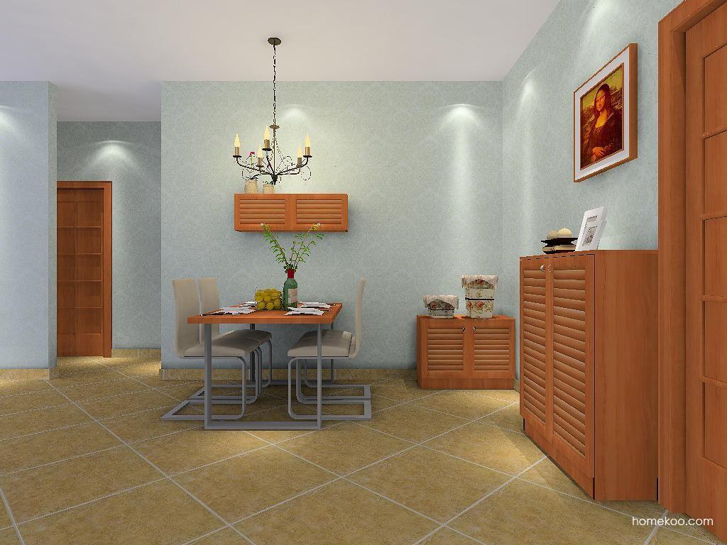 北欧阳光餐厅家具E2202