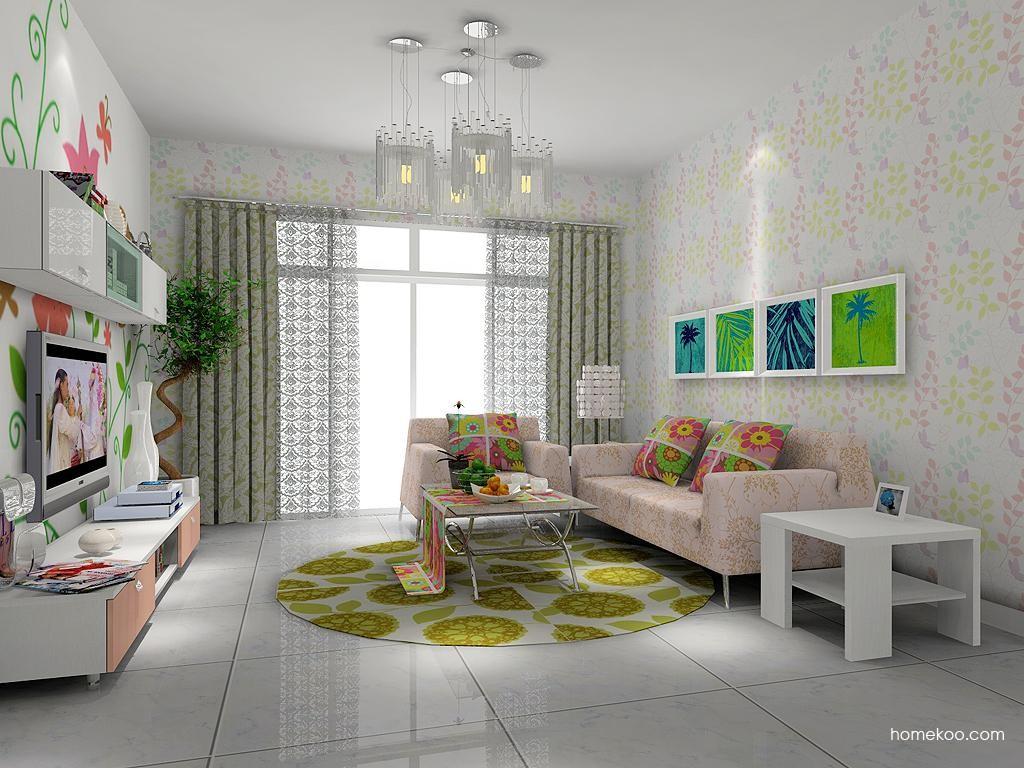 浪漫主义客厅家具D7401