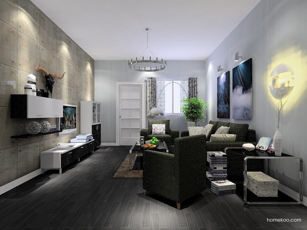 简约主义客厅家具D7390