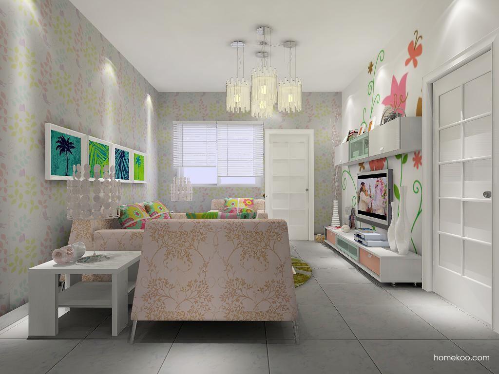 浪漫主义客厅家具D7387
