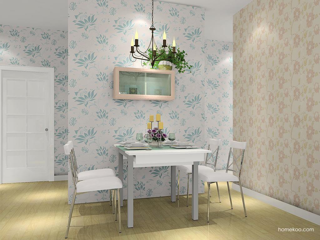 北欧阳光餐厅家具E2238