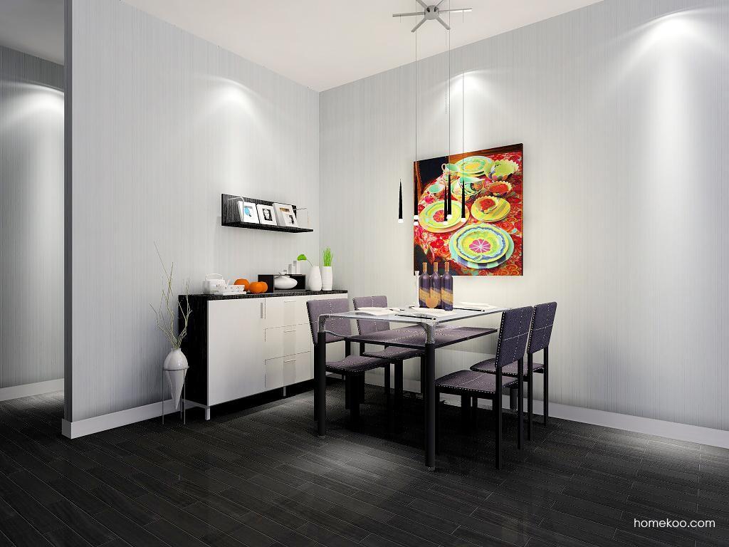 简约主义餐厅家具E2227