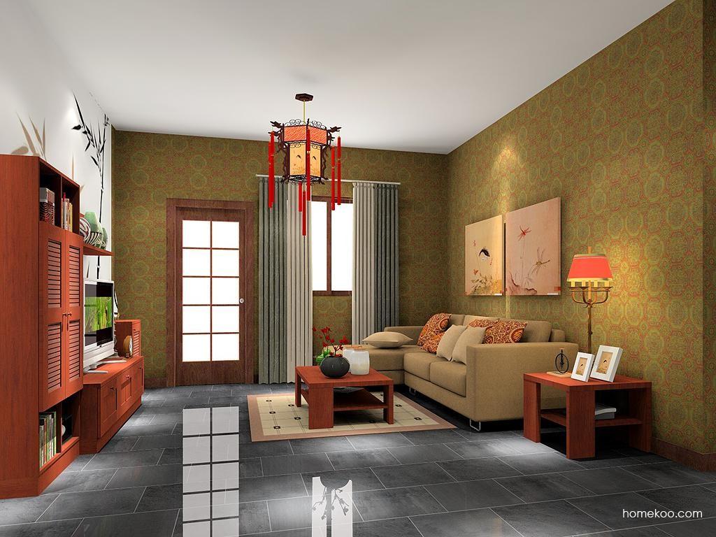 新中式主义客厅家具D7427