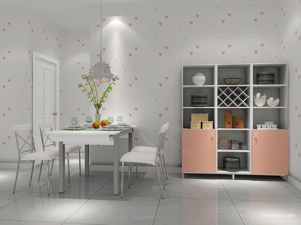 浪漫主义餐厅家具E2234
