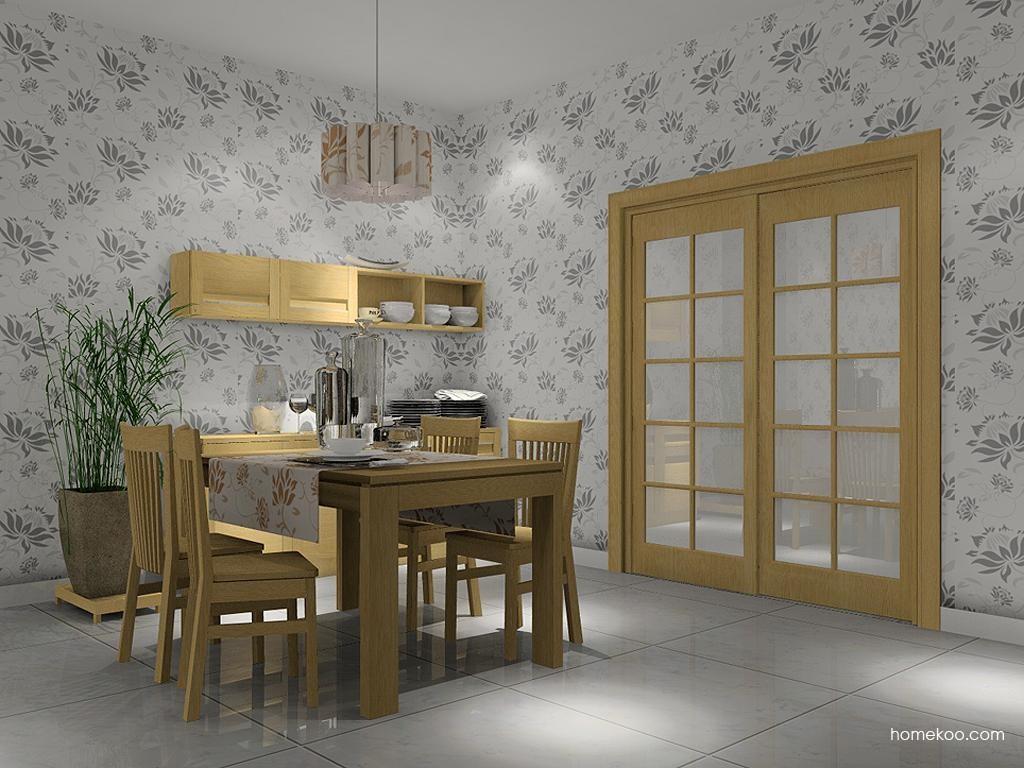 丹麦本色餐厅家具E2233
