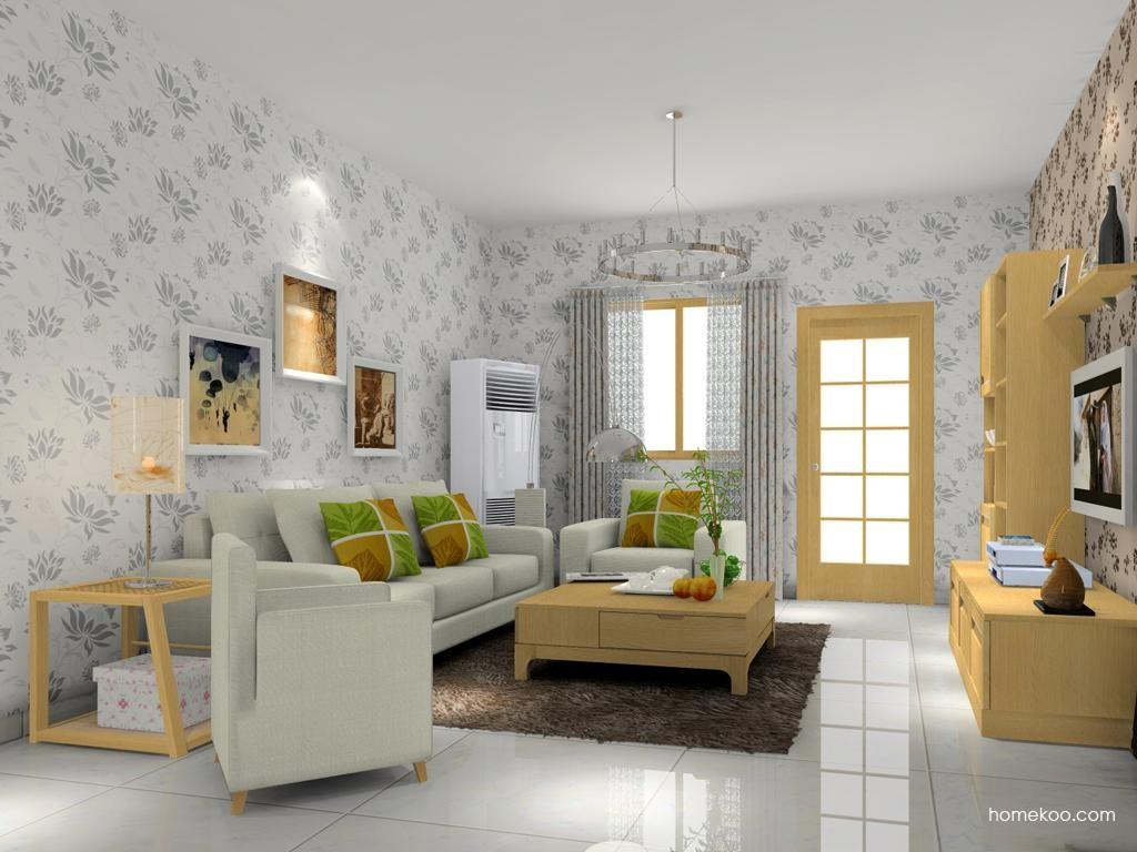 丹麦本色客厅家具D7435