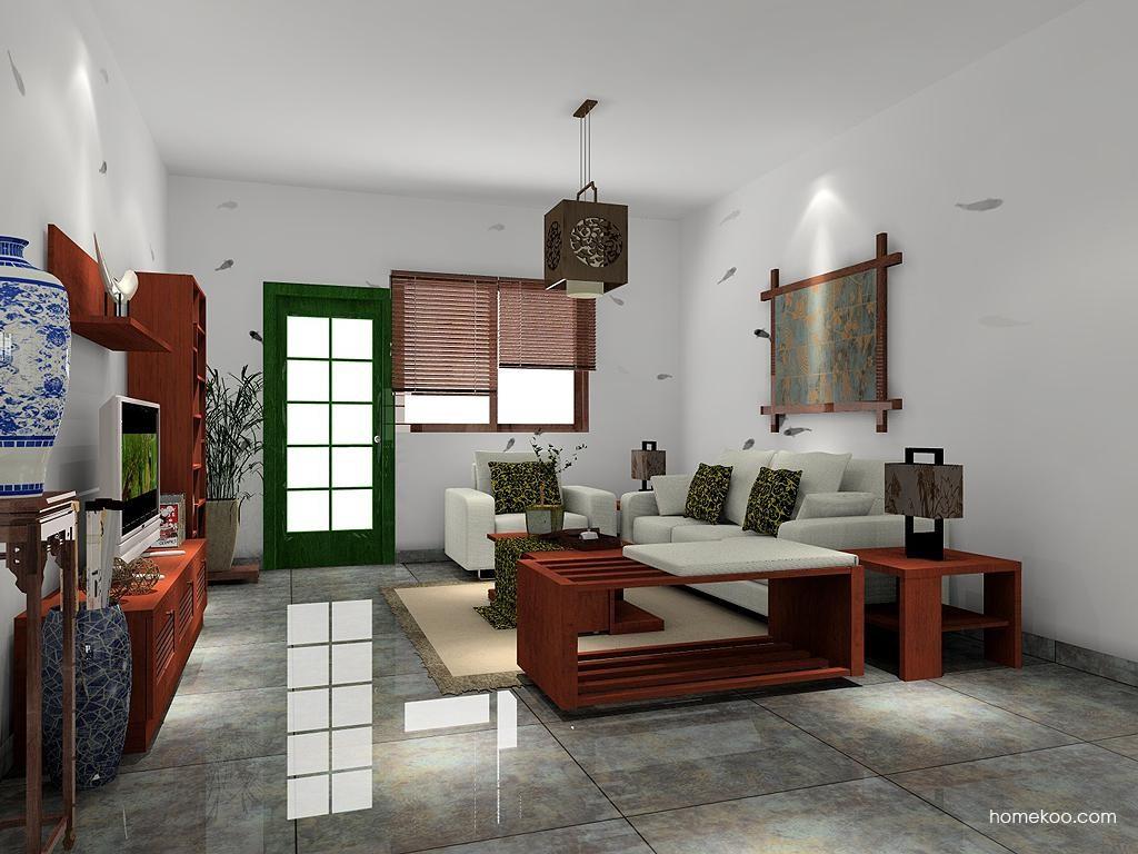 新中式主义客厅家具D7434