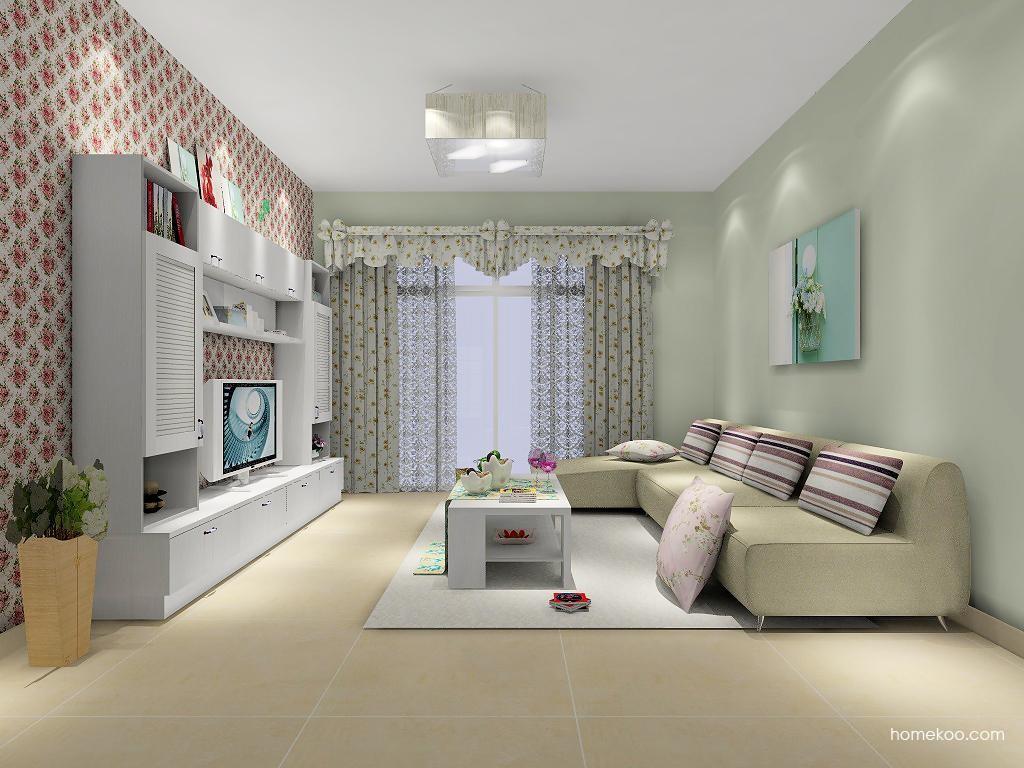 韩式田园客厅家具D7302