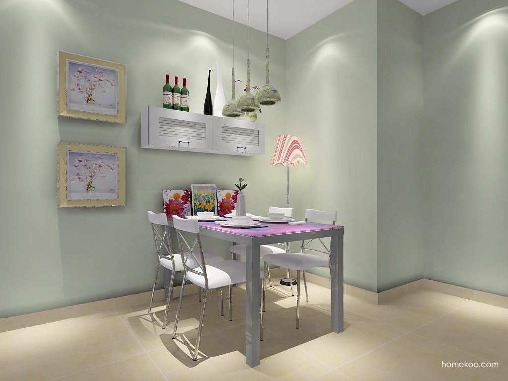 韩式田园餐厅家具E2107