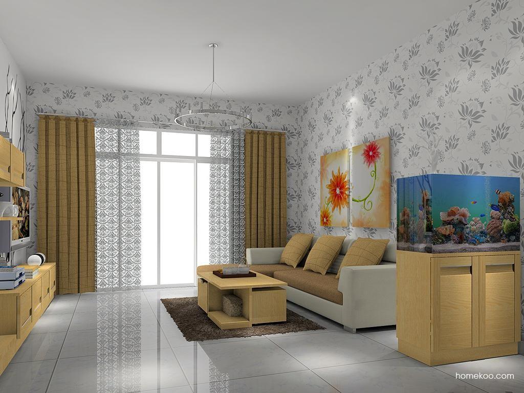 丹麦本色客厅家具D7309