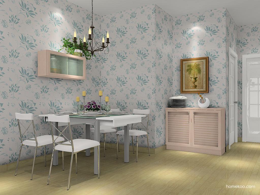 北欧阳光餐厅家具E2113
