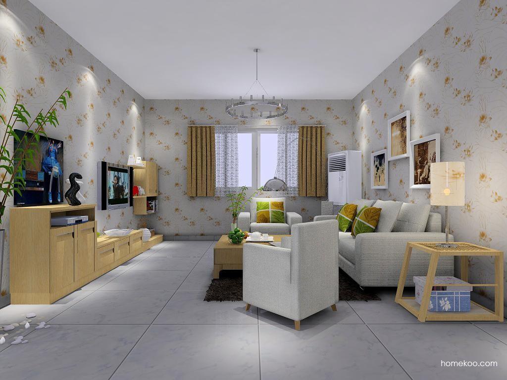 丹麦本色客厅家具D7459