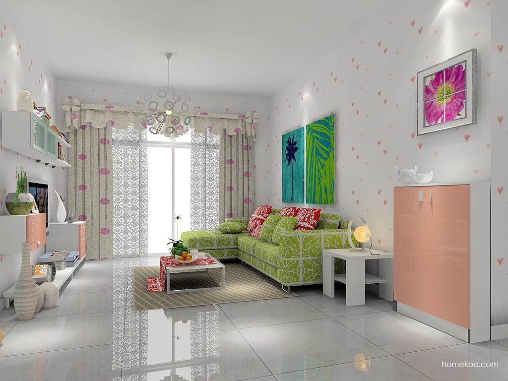 浪漫主义客厅家具D7452