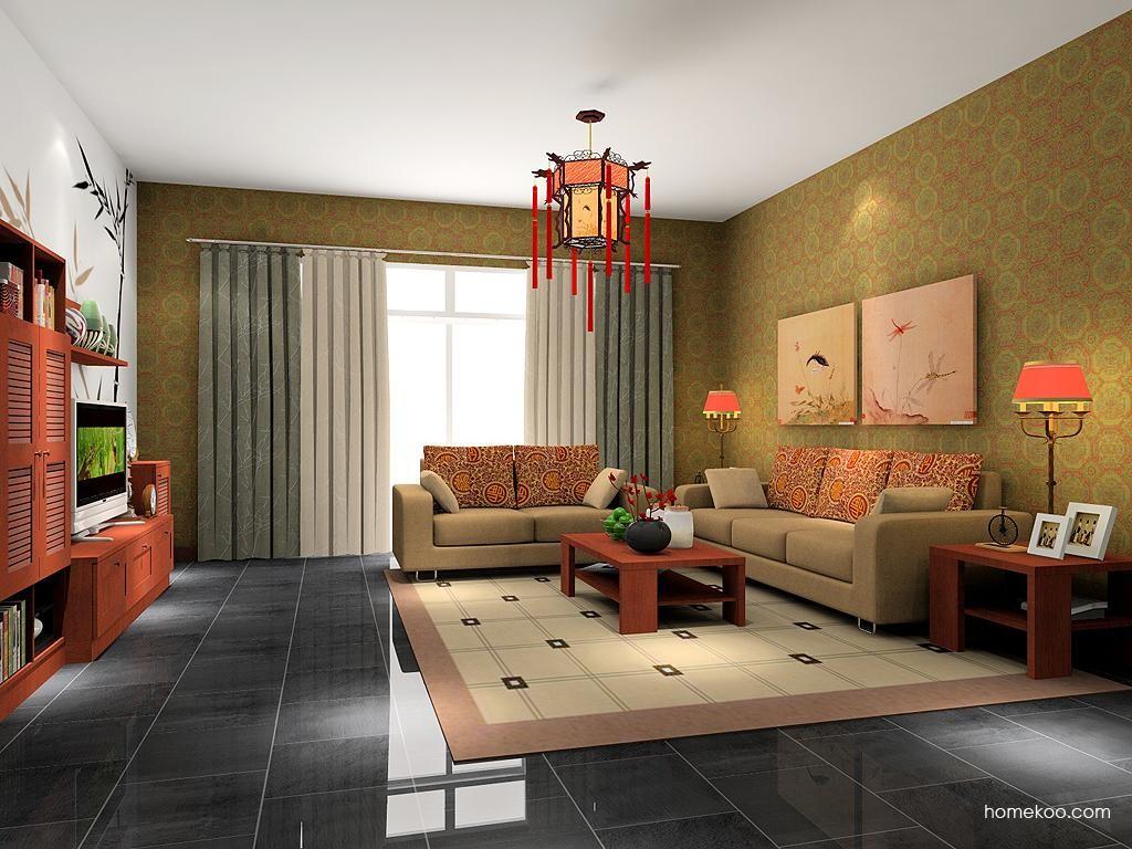 新中式主义客厅家具D7306