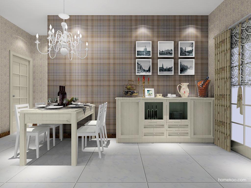 英伦印象餐厅家具E2141