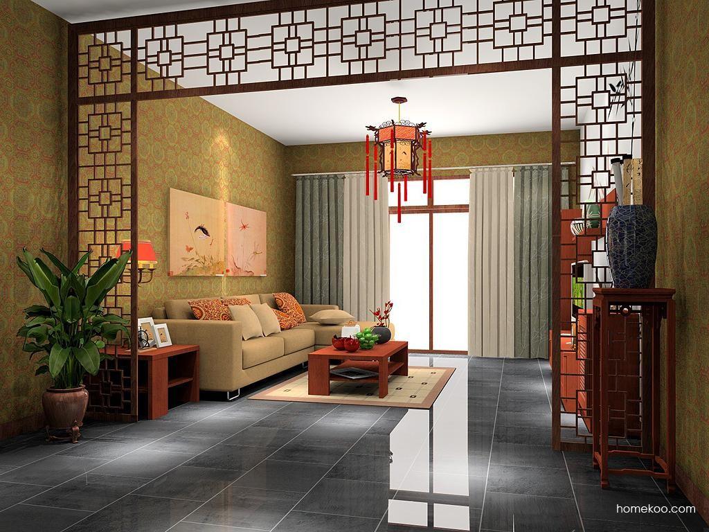 新中式主义客厅家具D7477