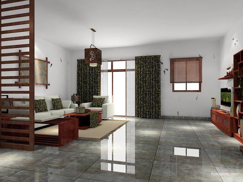 新中式主义客厅家具D7476