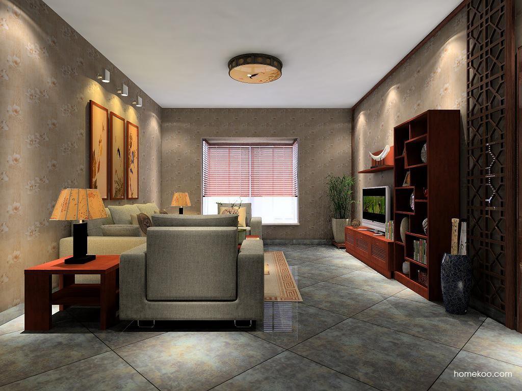 新中式主义客厅家具D7485