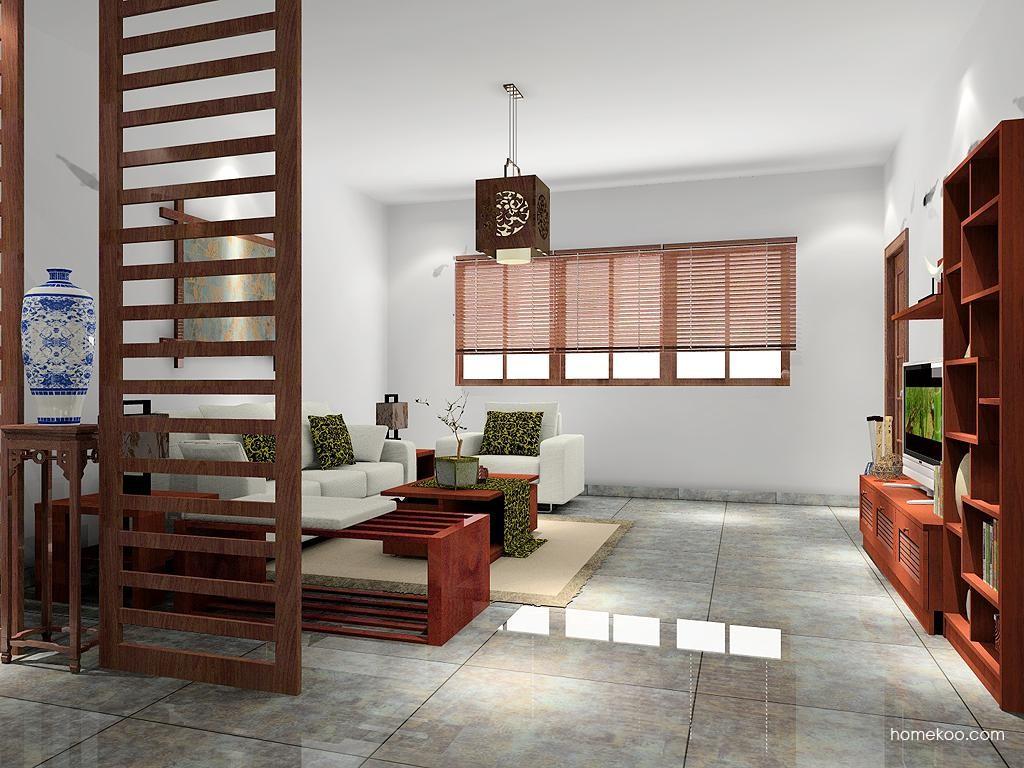 新中式主义客厅家具D7482