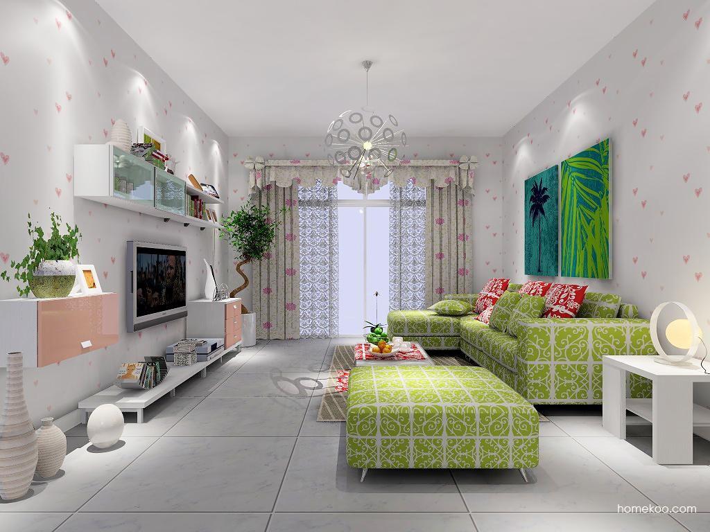 浪漫主义客厅家具D7325
