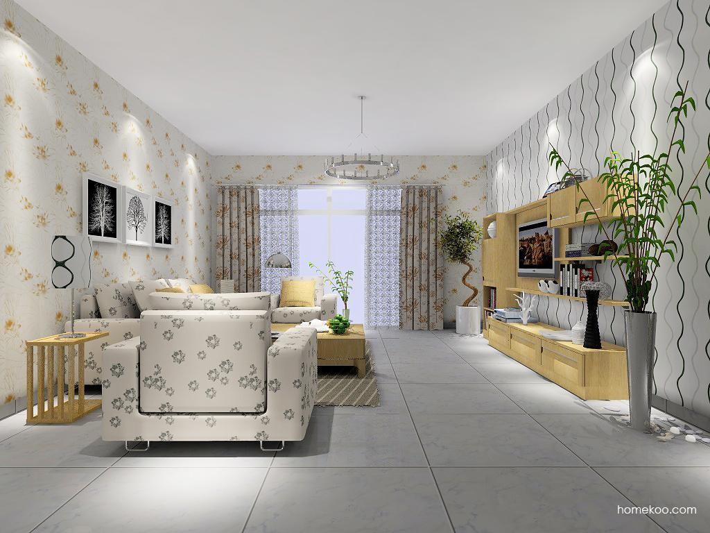 丹麦本色客厅家具D7349