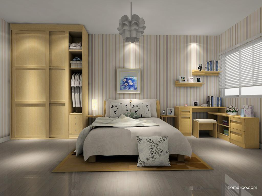 丹麦本色卧房家具A7825