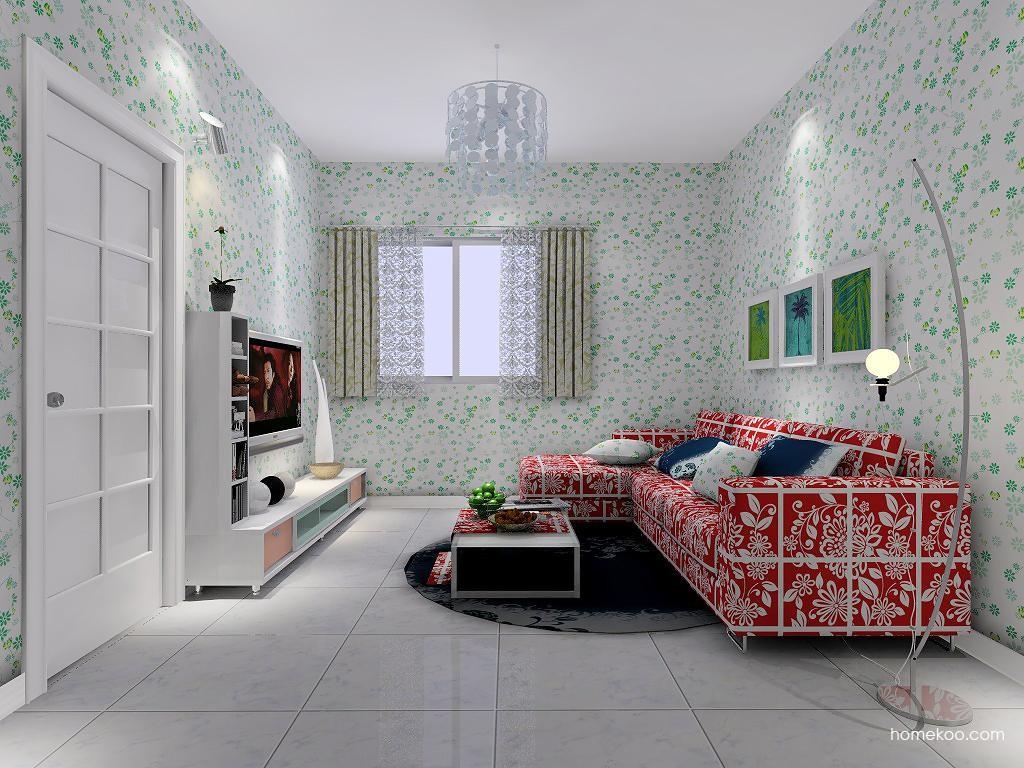 浪漫主义客厅家具D7371