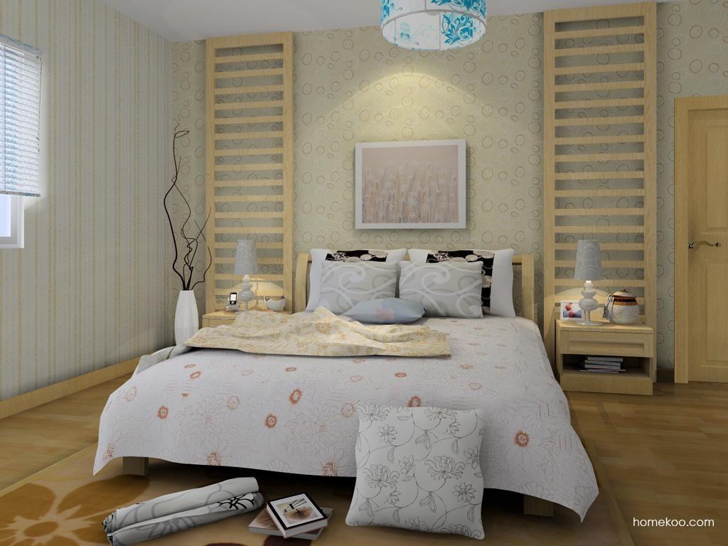 丹麦本色卧房家具A7831