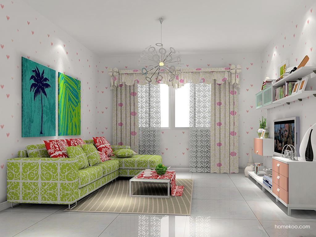 浪漫主义客厅家具D7305
