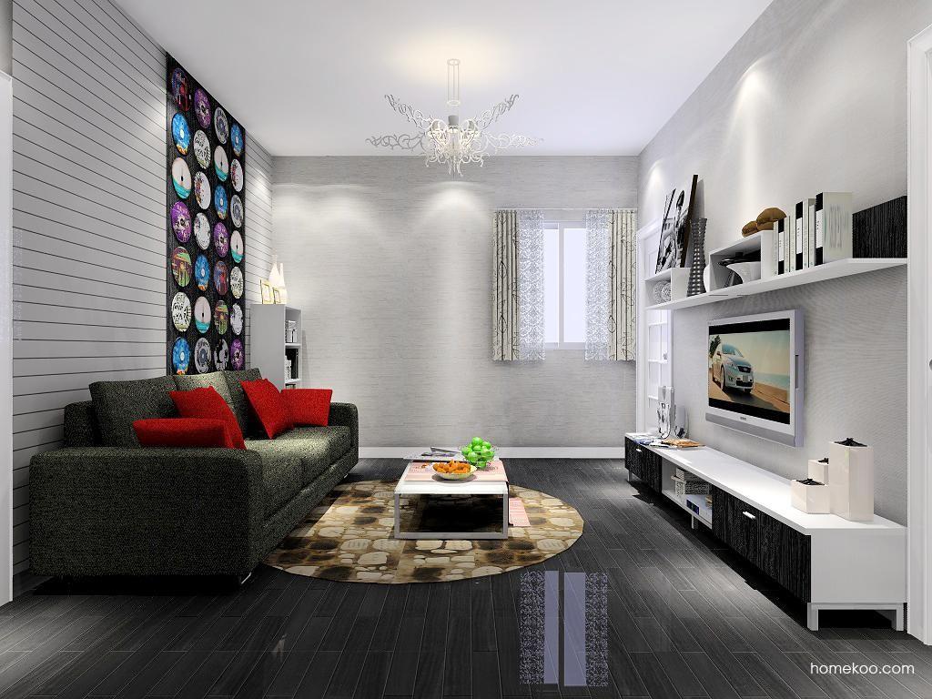简约主义客厅家具D7311