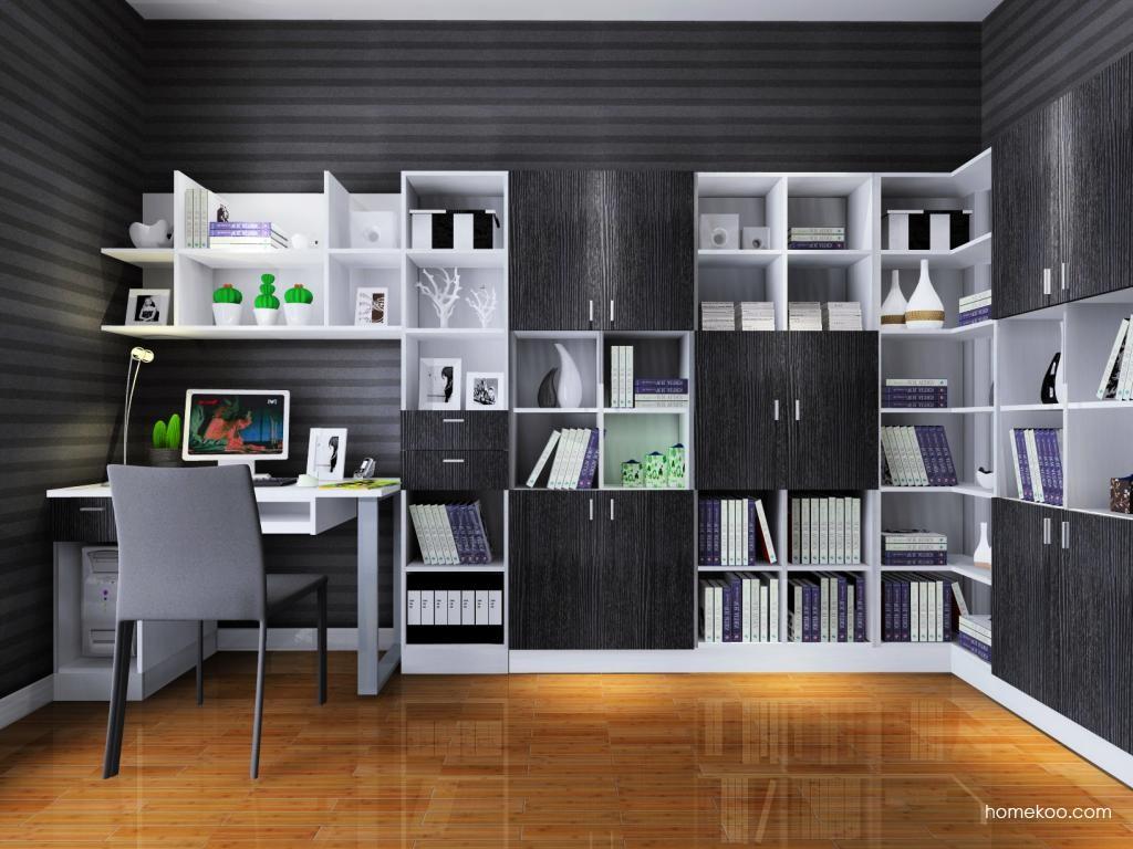 简约主义书房家具C4631